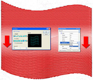 Wings Embroidery Software envelope tool